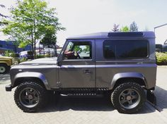 Land Rover Defender 90 Td4 whole package.