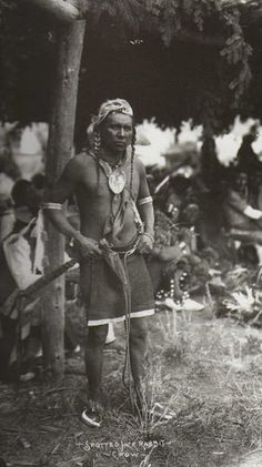 Spotted Jack Rabbit - Crow - circa 1900