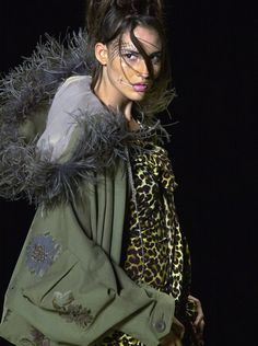 Ouch.. Love the coat!!Christian Dior Spring 2008 Haute Couture John Galliano