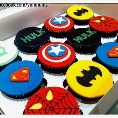 Superhero Cake Ideas | Superheroes cupcakes | Cake ideas