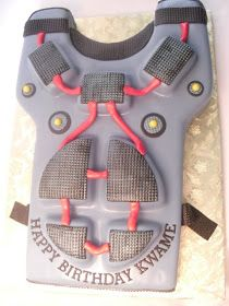 made FRESH daily: Laser Tag Vest Cake!