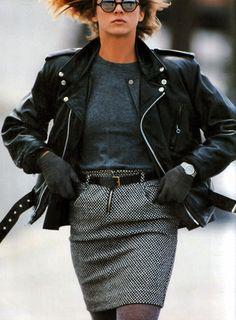 Gilles Bensimon for Elle magazine, September 1986.