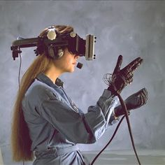 The big challenges in the field of virtual reality are developing better tracking systems, finding more natural ways to allow users to interact within a virtual environment and decreasing the time it takes to build virtual spaces. Virtual Reality Gear, Virtual Reality Companies, Virtual Reality Glasses, Augmented Reality, Apollo 11, Wearable Technology, Science And Technology, Fashion Technology, Technology Gifts