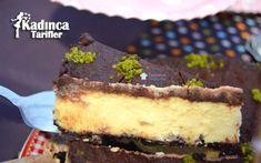 Çikolatalı Cheesecake Tarifi Cheesecake, Muffin, Desserts, Food, Tailgate Desserts, Deserts, Cheese Cakes, Eten, Postres