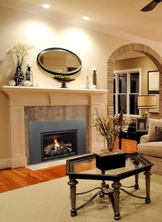 HomeClick is an online shopping store offering all the best brands for home decor, furniture, lighting products you need to outfit your home improvement. Wood Burning Insert, Gas Insert, Fireplace Tools, Home Fireplace, Traditional Fireplace, Traditional House, Fireplace Inserts, Online Shopping Stores