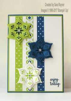 Eastern flowers | Sara's crafting and stamping studio