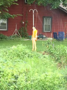 Best. Scarecrow. Ever.