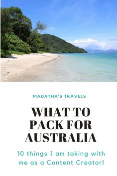 Being a Travel Photographer means that I have to remember all of my tech equipment, so read about the 10 things I'm packing for Australia and add them to your packing list too!  #australia #queensland #cairns #thegreatbarrierreef #citizensgbr #packing #packingtips #contentcreating #blogging #thingstopack #madathastravels