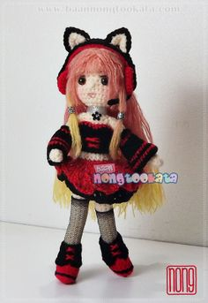 Colourful ♡ lovely doll