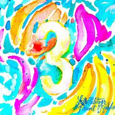 Lilly 5X5 illustration