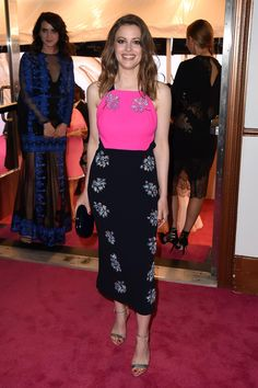 Gillian Jacobs in Tanya Taylor at the CFDA Awards. Photo: Nicholas Hunt/Getty Images.