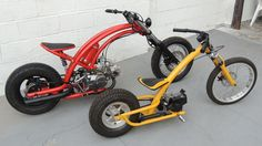 Custom scooters with radical frames