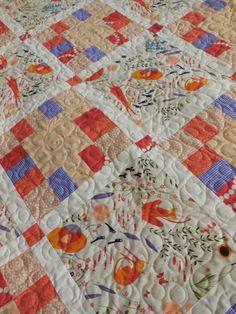 Catnip Baby Quilt | Diane Woodward