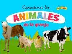 ANIMALES DE LA GRANJA EN ESPAÑOL PARA NIÑOS - YouTube