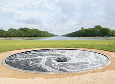 Anish Kapoor, Descension (2014), Courtesy Kapoor Studio and Kamel Mennour, Photo: Fabrice Seixas. See our feature on the Palace of Versailles' Anish Kapoor exhibit » bit.ly/CMFallArtWear.
