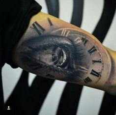 Tätowierung speziell – Tattoo Muster – Watch for everyone Inner Bicep Tattoo, Forearm Tattoos, Back Tattoo, Body Art Tattoos, New Tattoos, Tattoos For Guys, Cool Tattoos, Tattoo Sleeve Designs, Tattoo Designs Men