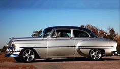 "1954 Chevrolet Bel Air ""Tuxedo"" - Muscle Cars of America - Google+"