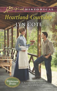 Lyn Cote - Heartland Courtship / #awordfromJoJo #ChristianFiction