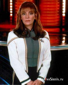Marina Sirtis - Counselor Troi in Star Trek The Next Generation