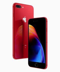 苹果发布了红色版 iPhone 8 & 8 Plus,这次改成黑色正面了   理想生活实验室 - 为更理想的生活