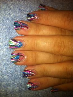 Nail art by Dottie Savage!