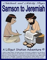 Ancient History Notebook Pages: Samson to Jeremiah for purchase on Currclick