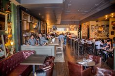 Neighbourhood Treasure: The Good Son. Queen West, Toronto. restaurant. dining. food. bar. nightlife. travel. drinks. cocktails. idea. recipe. inspiration. Photo via BlogTO | Heather Holmes | #LockAndKeyGuarantee