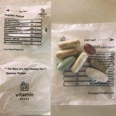 Vitamin Packs, Calcium Magnesium, Mornings, Feel Better, Peppermint, Vitamins, Thankful, Wellness, Feelings