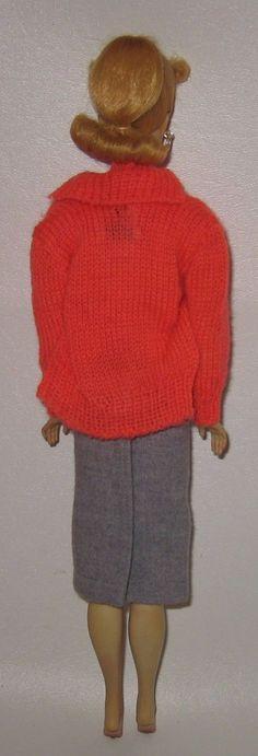 1958 Muñeca Barbie #1 vestidos de pantalla en Suéter Girl 876 Rosa silueta Caja Mib | Muñecas y osos, Muñecas, Barbie vintage (antes de 1973) | eBay!