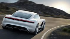 Salon de Francfort 2015 : la #Porsche Mission E tout…