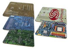 Circuit Board Placemat Set: Amazon.co.uk: Kitchen & Home