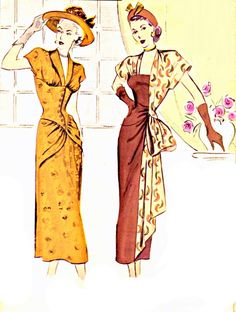 My Puzzles - Vintage Stuff - Vintage Women's Fashions 1940s?