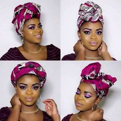 Head Wrap and Style