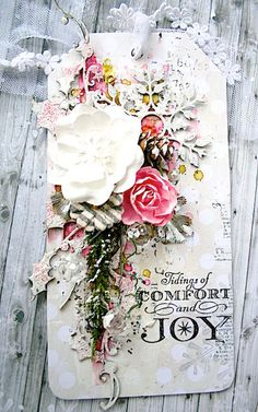 2 Crafty Chipboard : December Inspiration by Lisa Griffith