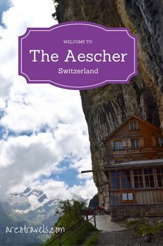 One of the most impressive place and most popular picture of mine has been the one from the Aescher in Switzerland (Appenzell / Ebenalp) I have an 36-hours itinerary for you. Schweiz