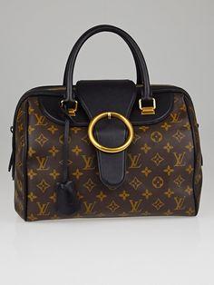 d4525429ed2 Louis Vuitton Limited Edition Black Monogram Canvas Golden Arrow Speedy Bag