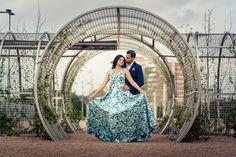 Buffalo Bayou Park Cistern Houston Engagement Photo Shoot