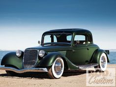 1933 Ford Five Window Coupe Photo By Tim Sutton Retro Cars, Vintage Cars, Antique Cars, Classic Hot Rod, Old Classic Cars, Cool Old Cars, Nice Cars, Automobile, Roadster