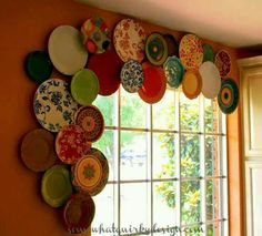 Love this for plates too pretty to eat off of-hip and humble home