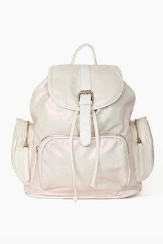 Shine On Backpack - White