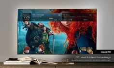 ZapperHD. Redesign by satellital or iptv decoder on Behance