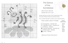 Schema punto croce Dance Bumblebee 02