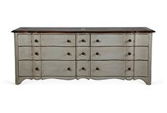 French 9-Drawer Chest