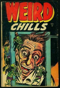 Weird Chills vintage comic book