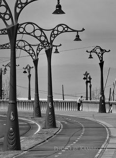 Landmarks and Buildings in A Coruna, Spain (columns) - a photo by Kambrosis Atlantic City, Home And Away, Columns, Roads, Passport, Places Ive Been, Art Decor, Portugal, Buildings