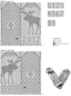 91069. JÄRBO GARN ÄLGVANTE Knitting Yarn, Knitting Patterns, Crochet Patterns, Filet Crochet, Knit Crochet, Charts And Graphs, Textiles, Knitted Gloves, Fair Isles
