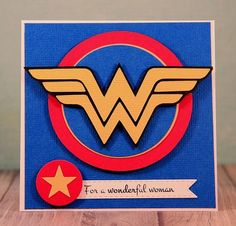 Snappy Scraps: Super Hero Central with SVG cutting files--Wonder Woman