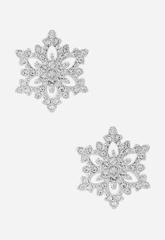 Swarovski Penelope Snowflake Earrings