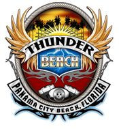"""Thunder Beach,""""The Most Biker Friendly"""" FREE Rally in the United States! Bikers, vendors and exhibitors from around the country descend on Panama City Beach, Florida for Bike Week, to share stories, see great bands and live entertainment, find the hottest custom motorcycles and motorcycle accessories available, and to experience a scenic ride on The World's Most Beautiful Beaches!   We have been attending since 2008!"""