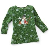 Winter Snow Days Snowman Sequin Top from Collections Etc. Texas Home Decor, Miss Green, Snowman Christmas Decorations, Collections Etc, Sequin Top, Winter Snow, Christmas Sweaters, Snow Days, Sequins
